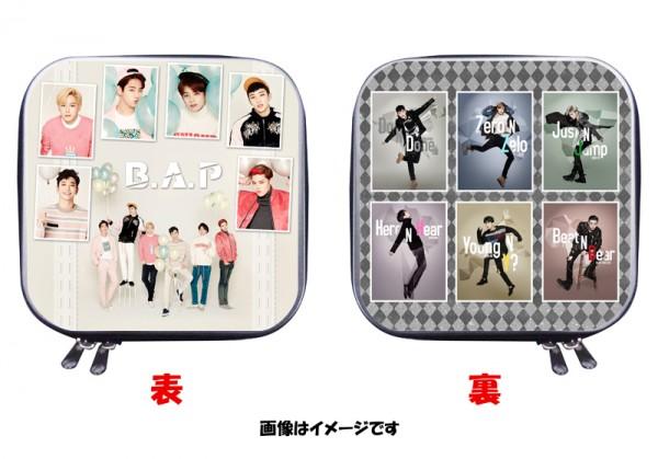 B.A.P BAP 両面写真付き CDケース DVDケース 四角 01
