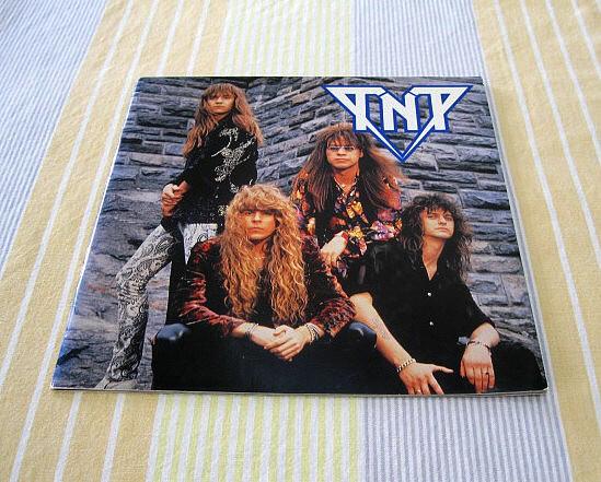 TNT●1989年日本公演パンフレット ノルウェー ハードロック