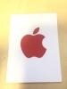 新品 正規品 非売品Apple純正品 世界エイズデーAIDSステッカーProduct REDシールStoreアップルストア 限定iPhone7Plus貴重 赤GBレッド
