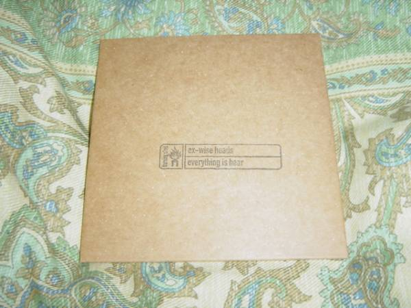 EX-WISE HEADS 「EVERYTHING IS HERE」 サイト限定盤 PORCUPINE TREE、HENRY COW関連_画像1