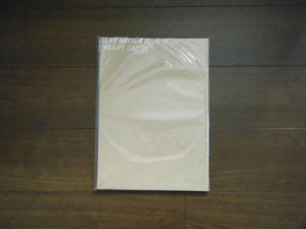 GLAY ARENA TOUR 2000 HEAVY GAUGE パンフレット