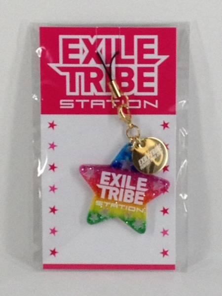 BA011☆EXILE TRIBE STATION ストラップ レインボー☆