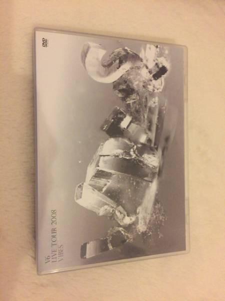 V6 LIVE TOUR 2008 VIBES 通常盤