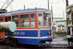 ◆【即決写真】函館市電 804 1977.9  駒場車庫/40895-14