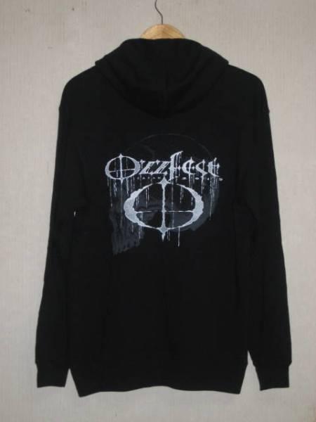 2 OZZFEST オズフェス 2015 ZIP パーカー L 黒 未使用品
