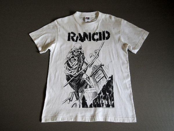 RANCID ランシド JAPAN TOUR 2007 Tシャツ スカル S