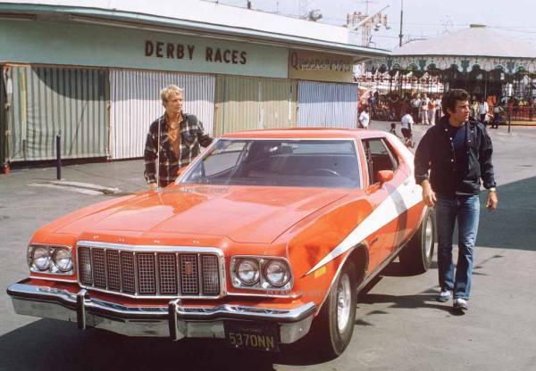 1975年 刑事スタスキー&ハッチ F グラン・トリノ フォト3枚付き