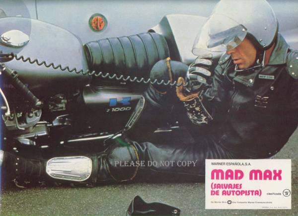 1979年映画 マッドマックス メル・ギブソン ロビーカード 3枚組