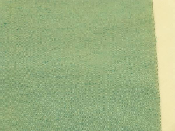 男物★新品正絹反物★山形県米沢・竹股織物製紬着尺★水色地です_画像3