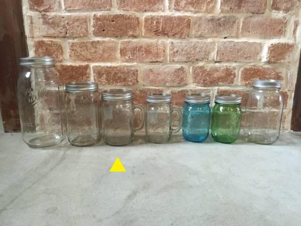 アメリカ 瓶 メイソンジャー コップ タンブラー サラダジャー_画像2