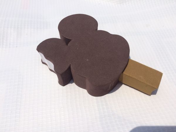 USディズニー ミッキー ICE Cream アンテナトッパー USDM Disney 夏仕様 US仕様 アメリカ_画像1