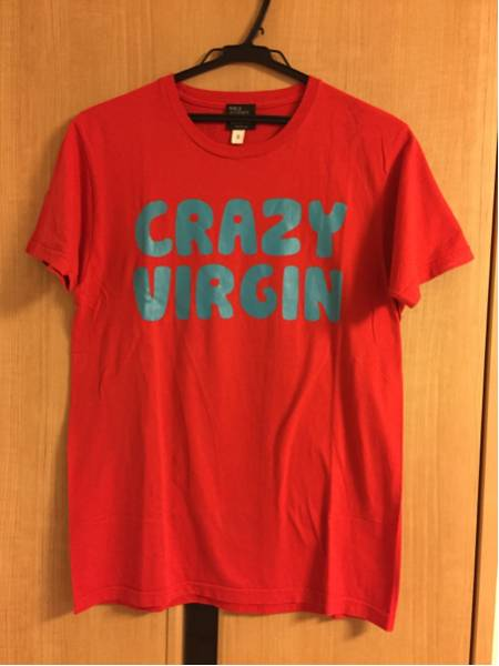 PUFFY CRAZY VIRGIN Tシャツ サイズS 大貫亜美 吉村由美 ライブグッズの画像