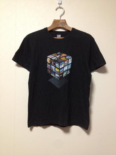 [即決古着]ケツメイシ/KTM/2008年ツアーTシャツ/半袖/キューブ/黒/ブラック/S_画像1