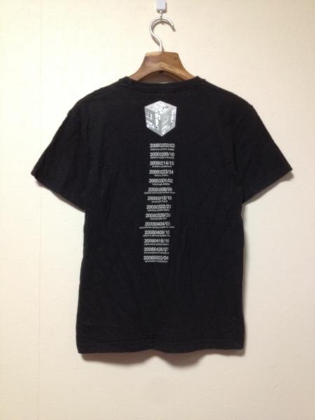 [即決古着]ケツメイシ/KTM/2008年ツアーTシャツ/半袖/キューブ/黒/ブラック/S_画像2