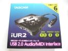 ★新品★TASCAM★USB2.0 オーディオ/MIDIインターフェース★iUR2