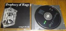 hrqrc288 - Prophecy of Rage [ wrong in the end ] CD NYHC RYKER'S