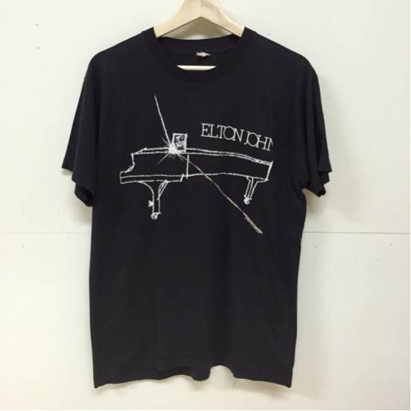 86年 ELTON JOHN ツアー Tシャツ XL エルトン・ジョン VINTAGE