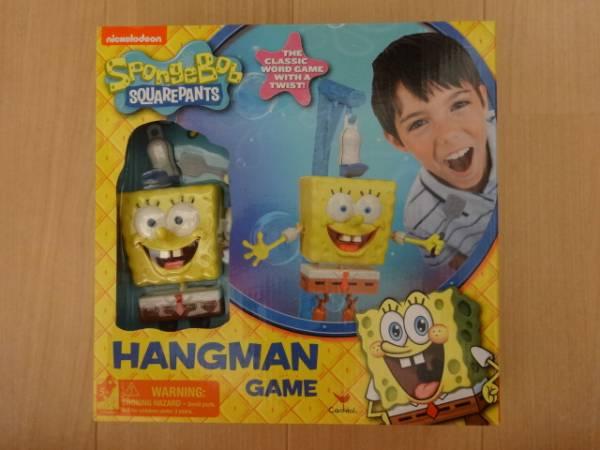 スポンジボブ ハングマンゲーム SpongeBob HANGMAN GAME グッズの画像