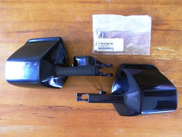 送料無料キャンペーン! BMW ハンドプロテクター ハンドガード ブラック R100GS R80GS R80g/s R100 TRAD R80 R65 R45