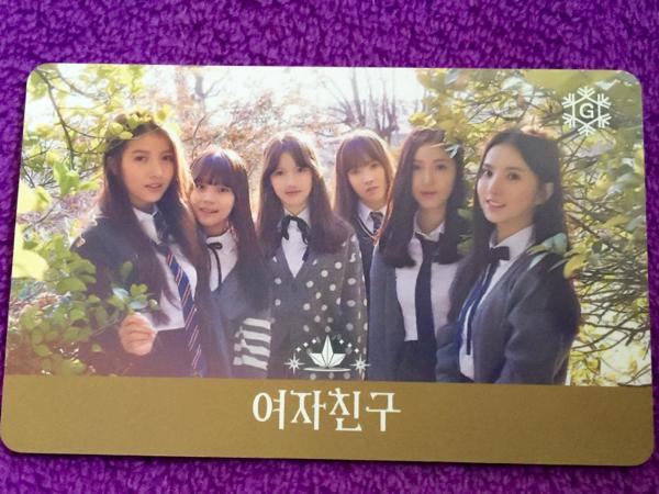 韓国旅行●T-money交通カード●ヨジャチング GFRIEND ①送料82円