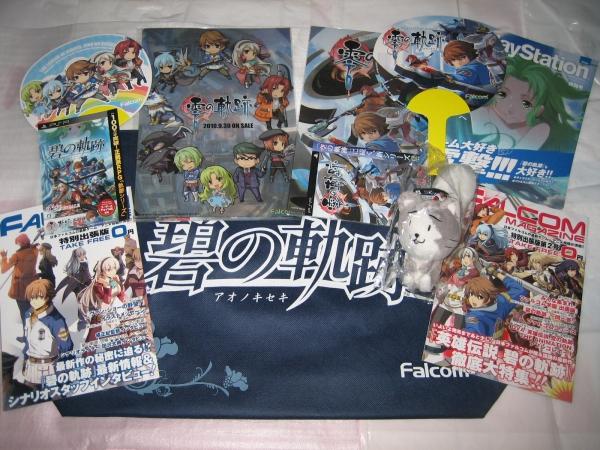 PSVita 英雄伝説 零の軌跡 Evolution+大量非売品 みっしぃ falcom 碧の軌跡 閃の軌跡Ⅲ Ⅳ PS3 PS4_画像3