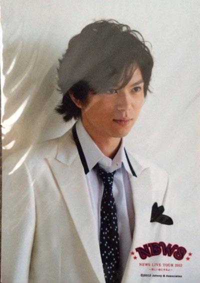 NEWS LIVE TOUR 2012 オリジナルフォトセット 加藤シゲアキ