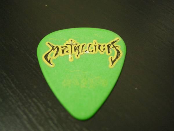 2003年 メタリカ ギターピック ジェームス・カーク