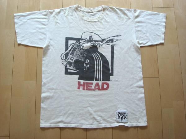 ☆コレクターズアイテム!!90s 初期 オリジナル TOMMYBOYのTシャツ HIPHOP 2pac トミーボーイ rap tee