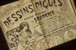 フランス製アンティーク,刺繍新聞,紙モノ,刺繍図案1933年