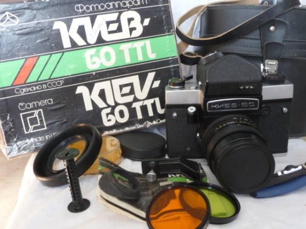 新品! Kiev-60TTL Pentacon VOLNA 80MM ペンタコン シックス#722_画像1
