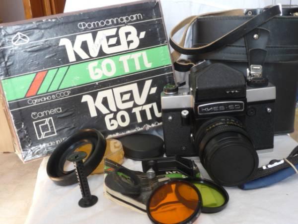 新品! Kiev-60TTL Pentacon VOLNA 80MM ペンタコン シックス#722_画像2