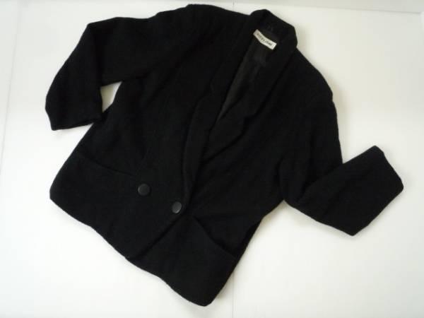 【お得!!】■MON-PETIT■ シンプルコート 黒 長袖 9A3