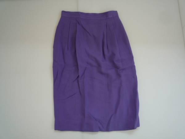 【お得!!】◆PEK SPOOK◆ 台形スカート 紫系 7分丈 66-90