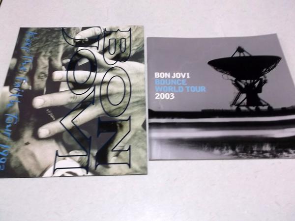 ●BON JOVI★ボン・ジョヴィ【1993&2003ツアーパンフ2冊】美品♪