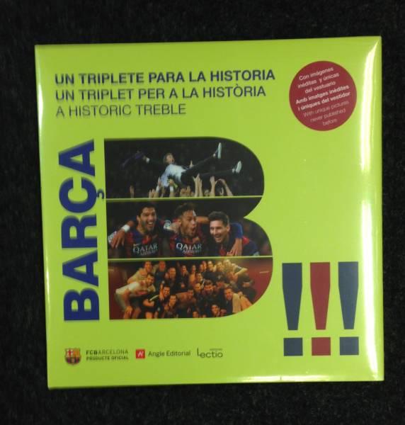 FCバルセロナ2015写真集BARCA!!! un triplete para la historia グッズの画像