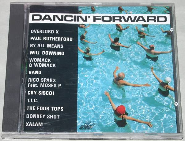 12'' Maxi Dancin' Forward ドイツ盤CD PRO Paul Rutherford FGTH Will Downing Four Tops Bang Womack & Womack The Four Tops_画像1