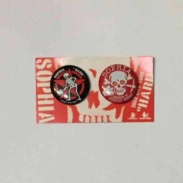 SOPHIA ソフィア バッジ バッチ 缶バッジ ライブグッズ グッズ ステッカー CD DVD