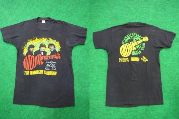 N839*80s MONKEES モンキーズ 20周年 ツアー Tシャツ