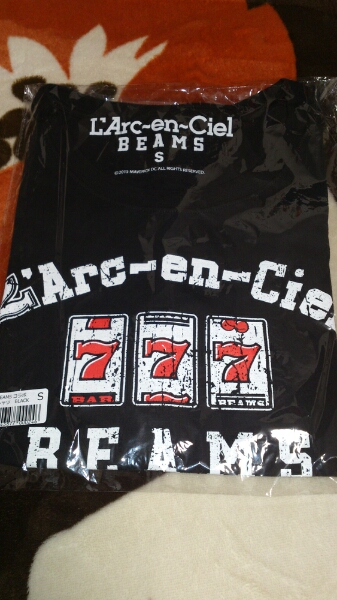 L'Arc en Ciel BEAMS レア 限定 Tシャツ S