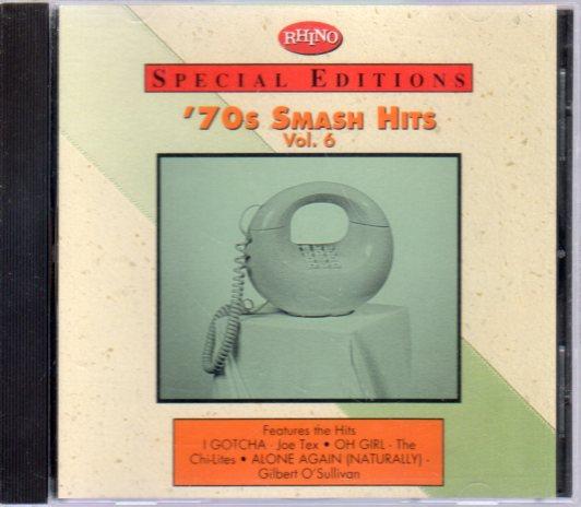 ★BNETTY WRIGHT MALO CHI-LITES他 70's Smash Hits 6