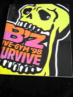B'z Live-Gym 98 SURVIVE コンサートツアーパンフレット 即決