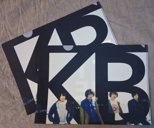 ★☆KANA-BOON「TIME」 非売品 クリアファイル 2点セット☆★
