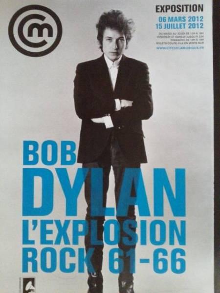 ボブディラン/2012年にパリで開催された企画展のポスター