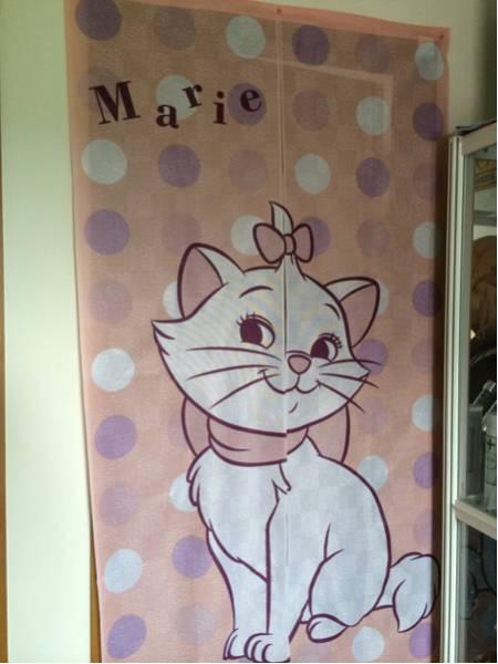 ディズニー マリー のれん おしゃれキャット レア 猫 ディズニーグッズの画像