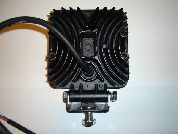 角度調整機能付き 高輝度LED3W×9 角型ライト 長寿命 建機 ユンボ 重機 ダンプ トラック タイヤショベル ローラー ブルドーザー_画像2