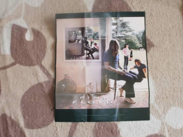 ♪ピンク・フロイド/『ウマグマ』 付録のポスター 美品送無料♪