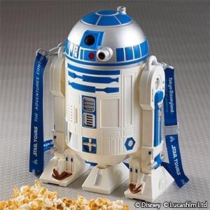 スターウォーズ R2D2 ポップコーンバケツ 東京ディズニーランド グッズの画像