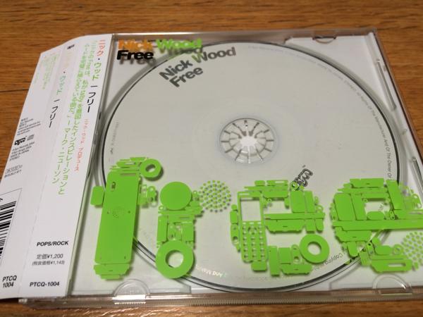 CD★フリー / ニック・ウッド_画像1