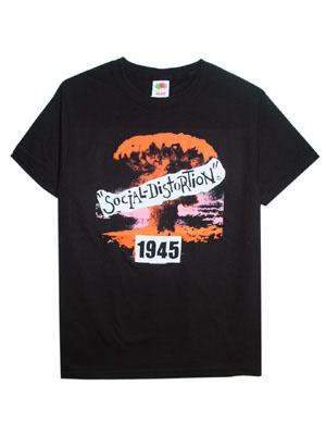 ソーシャルディストーション1945Tシャツ・S オフスプリングPUNK