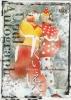 【直筆サインカード(/110)】BBMプロレス2003 くいしんぼう仮面&えべっさん くいえべ 大阪プロレス ブック式